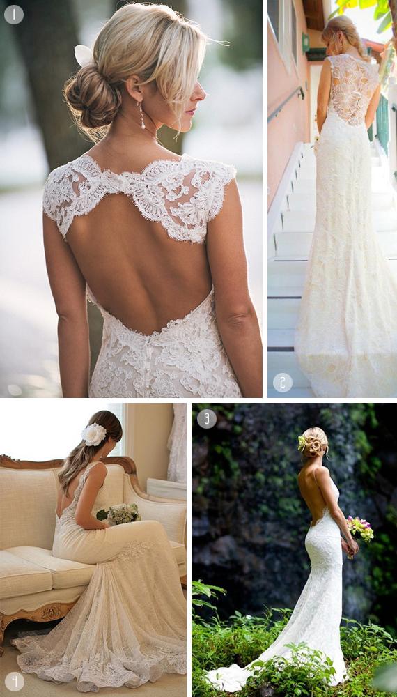 brudekjole havebryllup