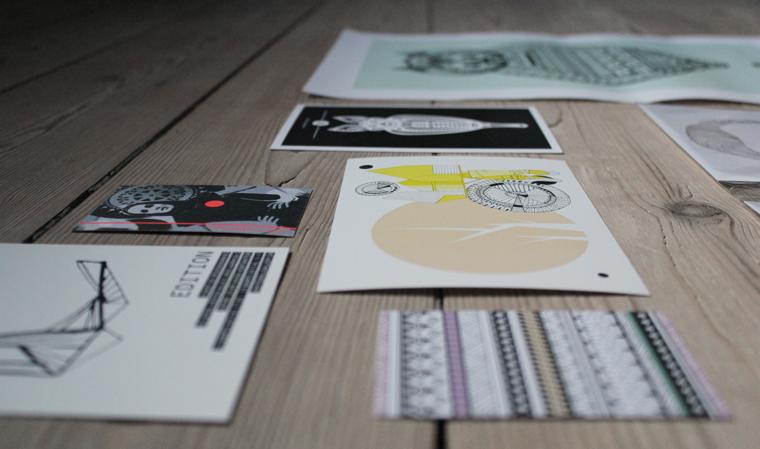edition, whitewallgallery, aarhus, illustrationer, grafisk design, 215.dk, stine kiel, designmarked