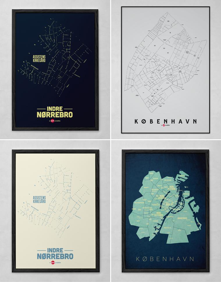 By Plakat Aarhus I Dansk Design Creative Dot