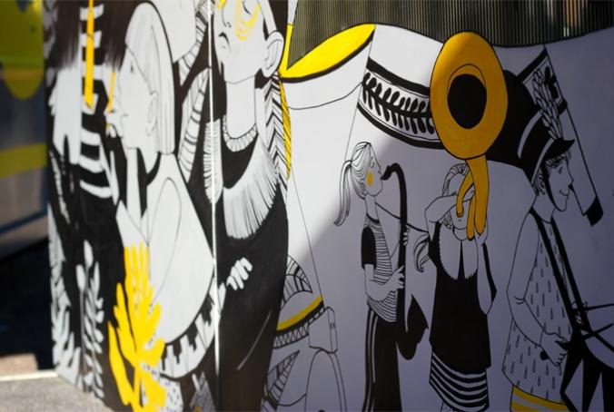 godsbanen, aarhus festuge, the tube, kolding designskole, colourfull ink, aarhusblogger