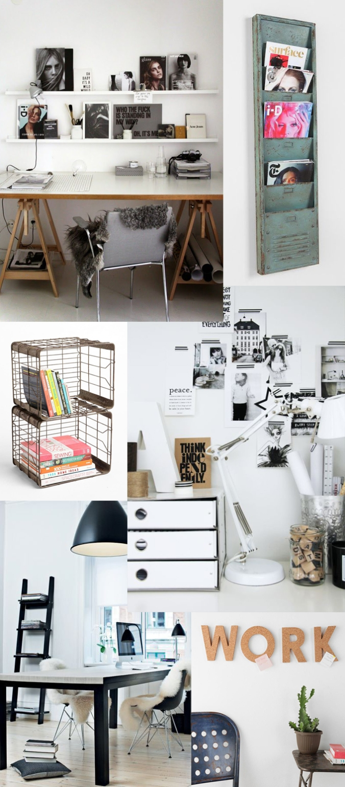 kontor, indretning, interiør, interior, bolig, living, design, office, inspiration, colourfull ink, aarhusblogger